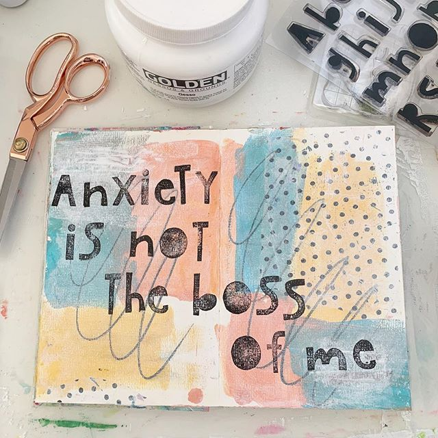 34/100. I started getting anxious in the airport last night waiting for our flight home, dreading the busyness this week holds.. but I prayed through it and decided not to give in to anxious thoughts. The joy of the Lord will be my strength! #the100dayproject #100daysofartjournaling #100daysofjenuineartjournaling #flow #artjournal #mixedmedia #creativeflow #therapeuticart #workhardrestwell