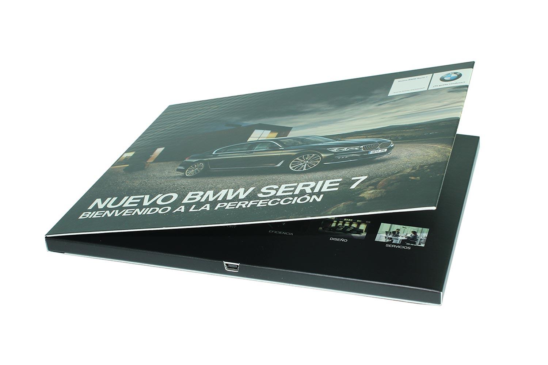 A4 Video Brochures