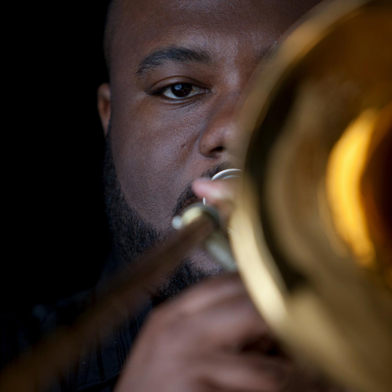 David White, jazz trombonist