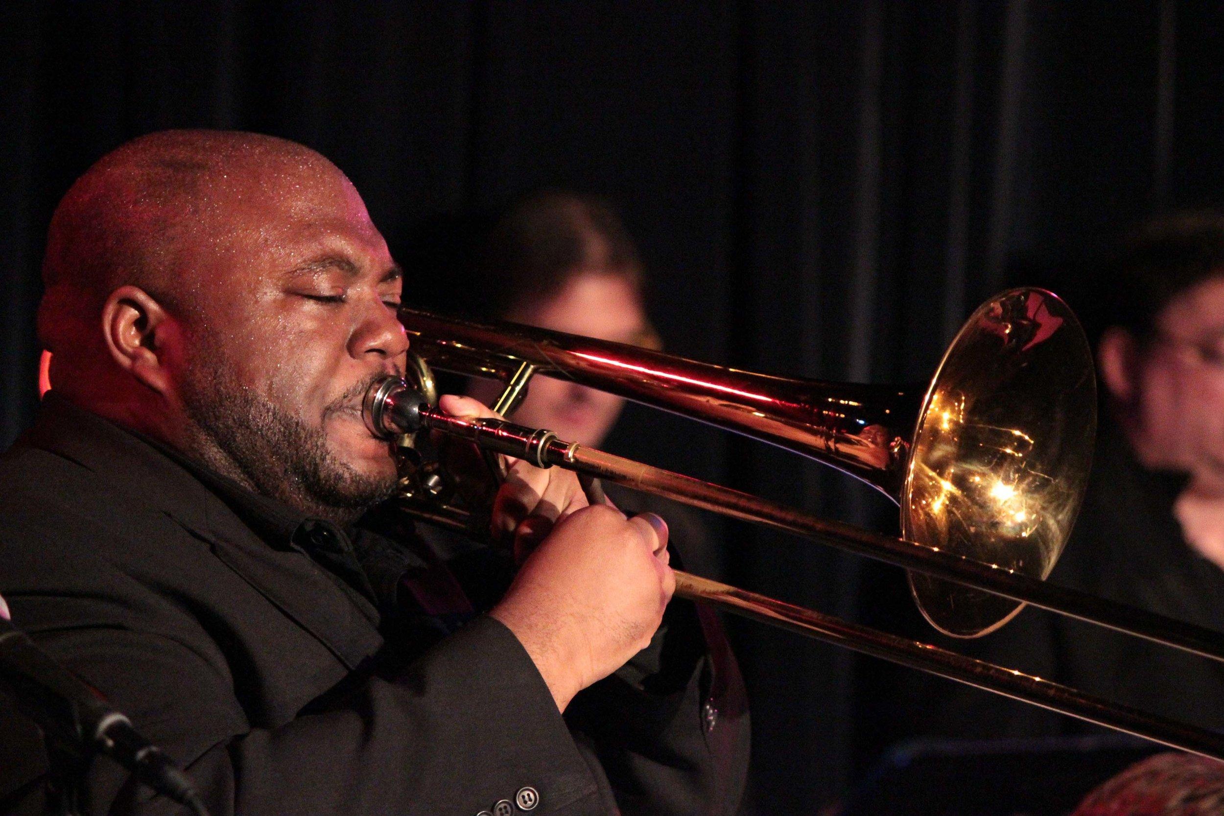 David White Jazz Orchestra: Flaspoint CD Release Concert-Trombon