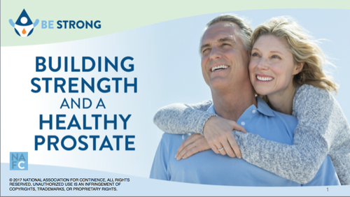 Building Strength And A Healthy Prostate Presentation Kit