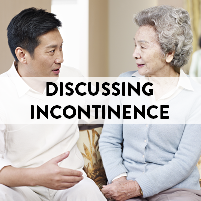 Discussing Incontinence