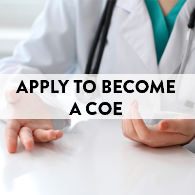 Apply to Become a Center of Excellence