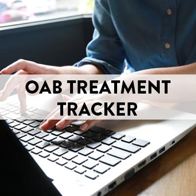 Overactive Bladder Treatment Tracker