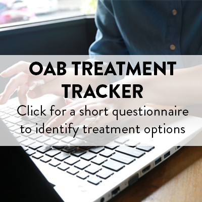 OAB Treatment Tracker Bug
