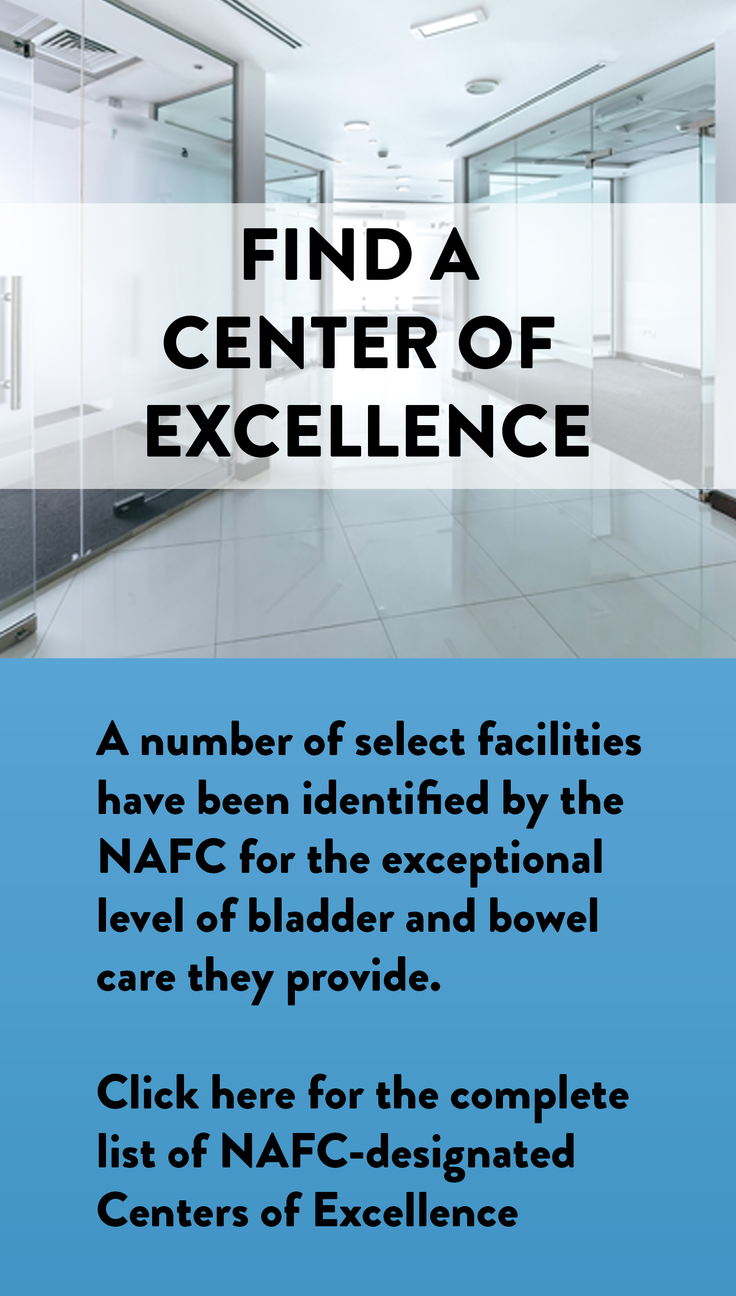 Center of Excellence Locator