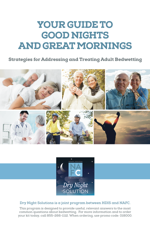 Your Guide To Good Nights And Great Mornings - NAFC Bedwetting Guide