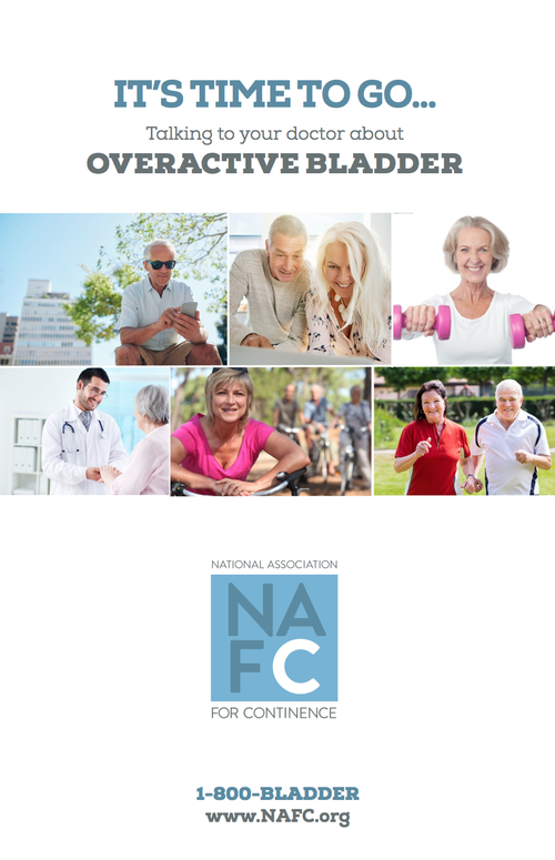 It's Time To Go: Talking To Your Doctor About Overactive Bladder Downloadable Guide