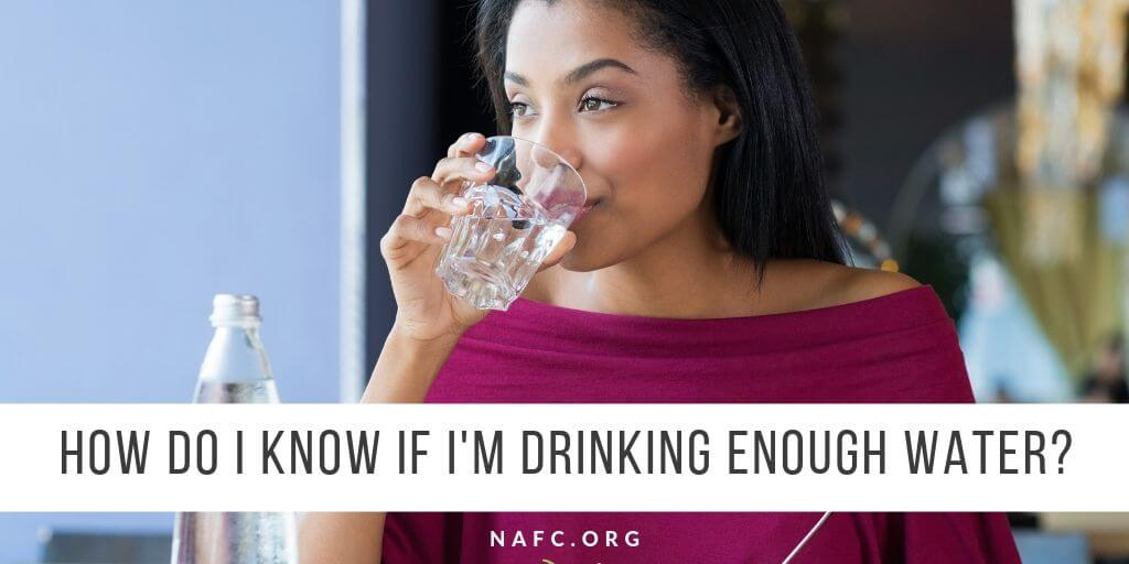 How Do I Know If I'm Drinking Enough Water? Try Our Simple Trick.