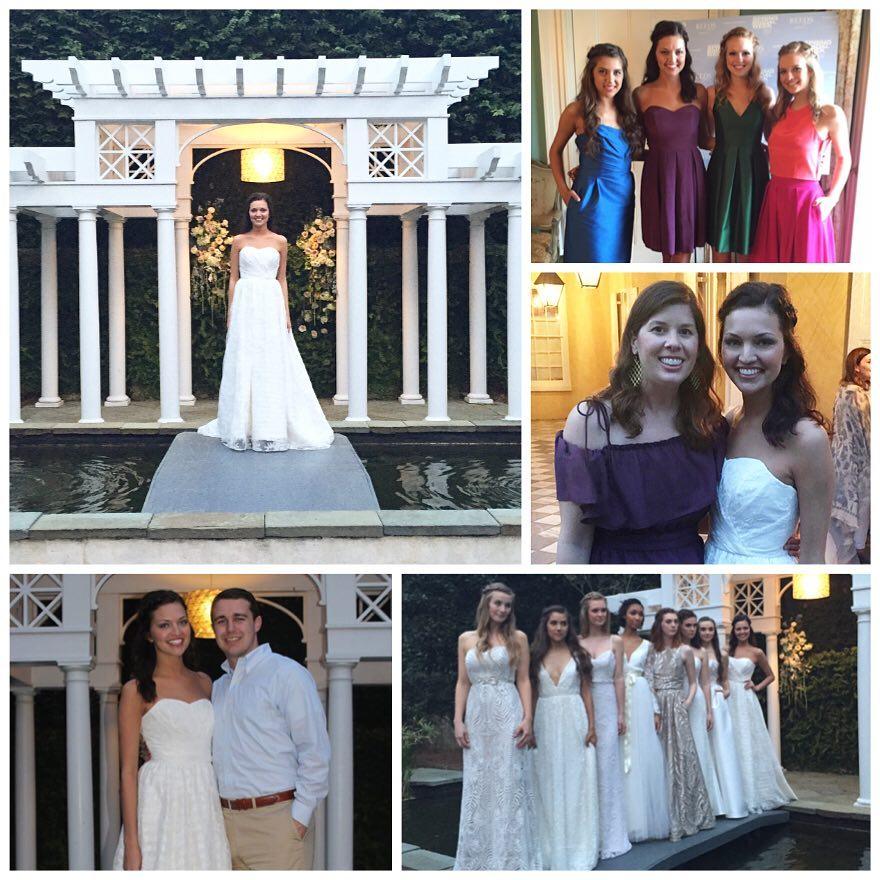 A little fashion show fun in kate mcdonald bridal