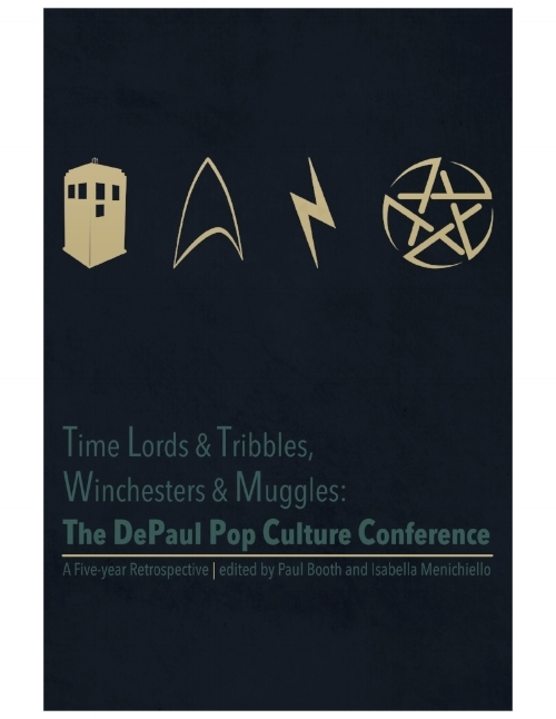 Time Lords and Tribbles… - In celebration of the first five years of the Depaul Pop Culture Conference, this book collects essays, thoughts, and contributions from participants over the past half decade. From Doctor Who to Star Trek, the works of Joss Whedon to Supernatural, and of course the fifth anniversary event on Harry Potter, enjoy the 100 or so essays about the importance of pop culture in our lives.With keynote essays from Robert Shearman (Doctor Who) Brannon Braga (The Star Trek Franchise), Robbie Thompson (Supernatural), Lisa Klink (Star Trek Voyager), Cheryl Cain (Firefly), and Alanna Bennett (Harry Potter)!You can purchase the book at:Amazon.comBlurb.comBarnes and NobleApple iBook
