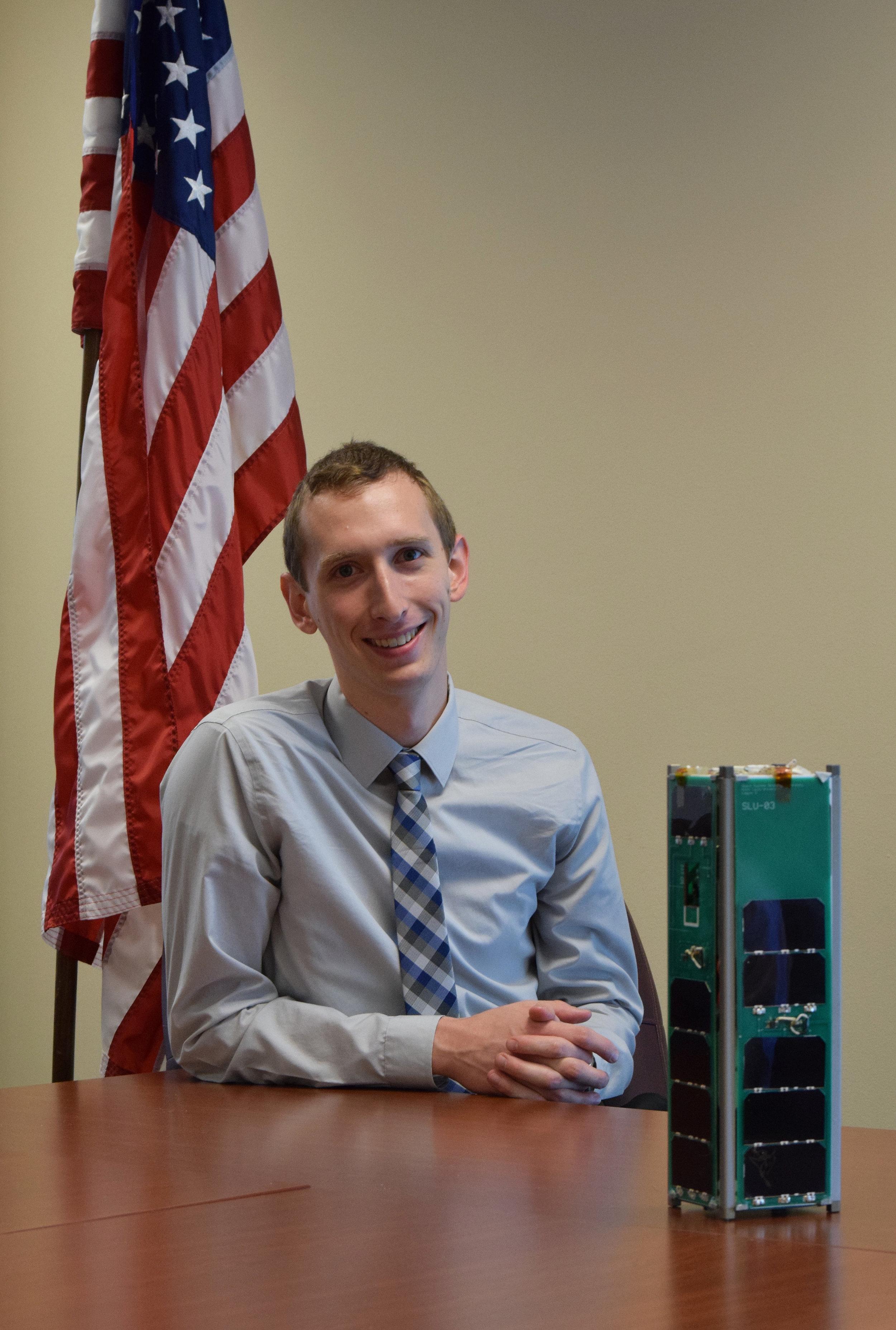 Ben Fiedler - Attitude, Determination, & Control Subsystem Lead