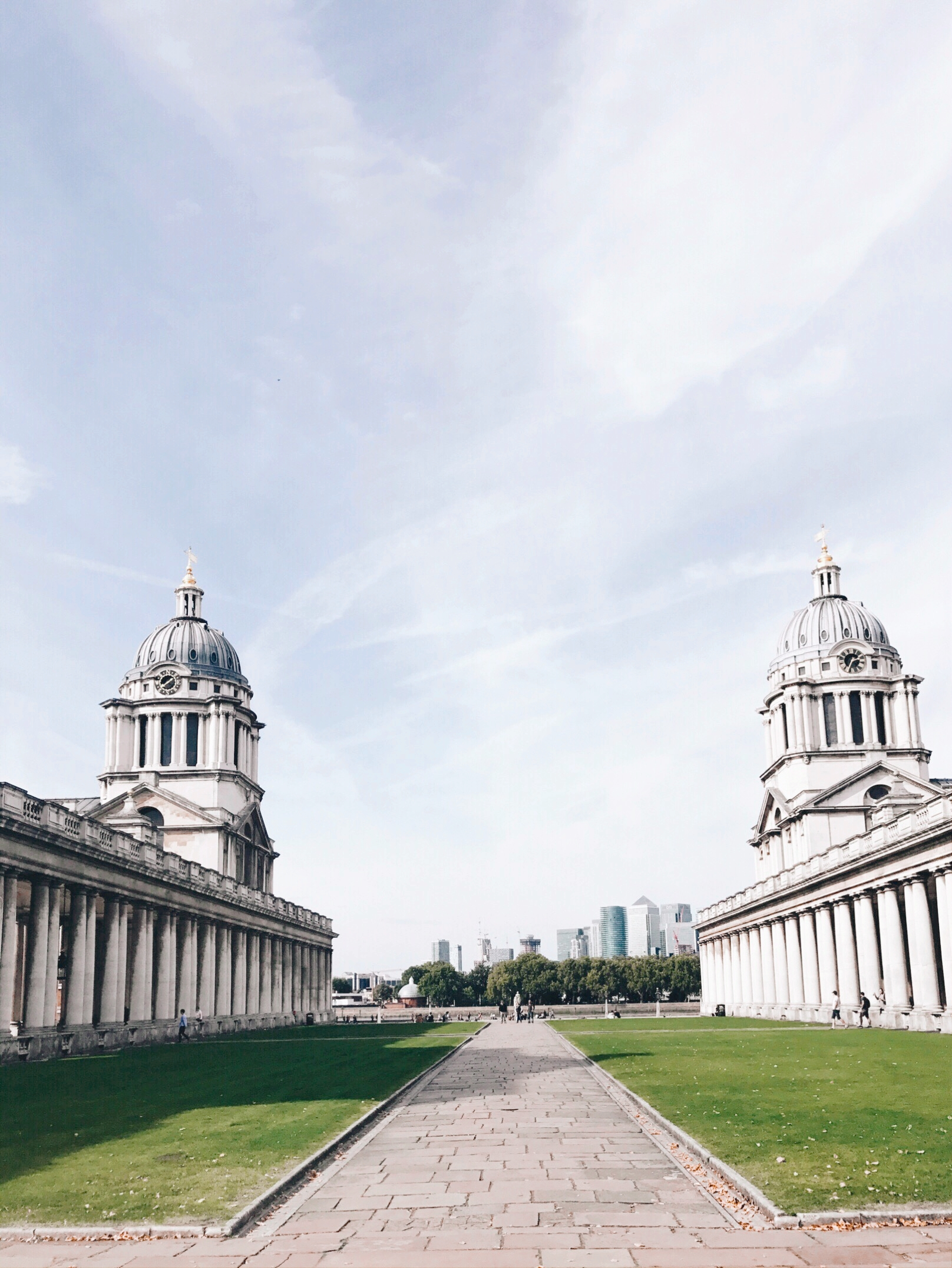The Old Royal Naval College & Chapel. - (Nearest tube; Cutty Sark for Maritime Greenwich, DLR)