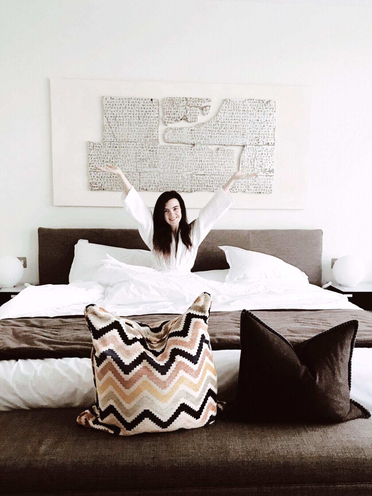 hotel bed breakfast manchester blogger