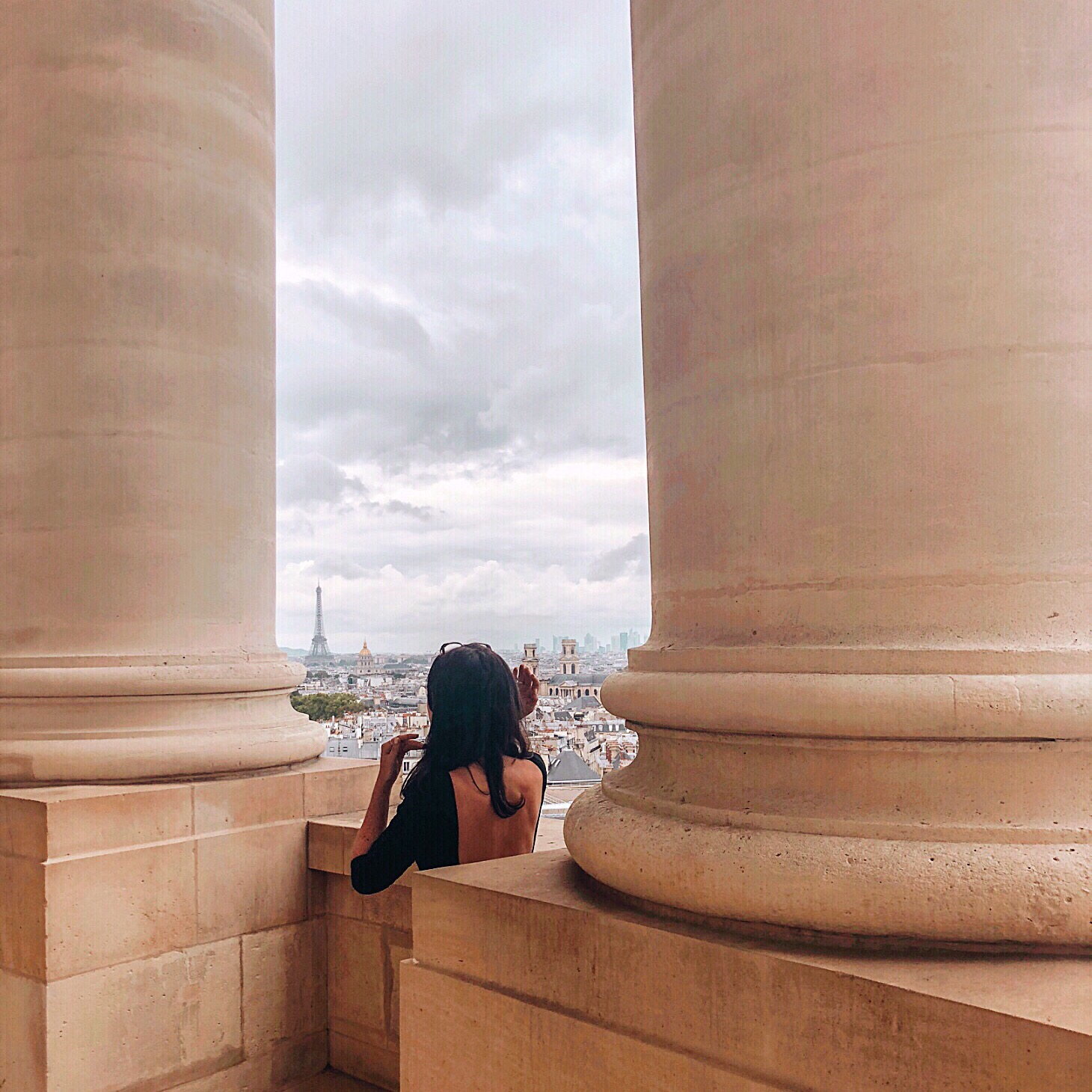 Paris Pantheon views
