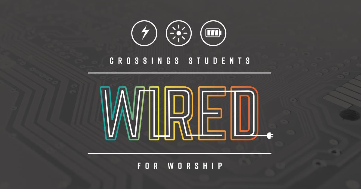 Crossings June 25-30, 2018!