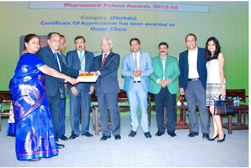 2013-14 Pharmexcil Patents Award