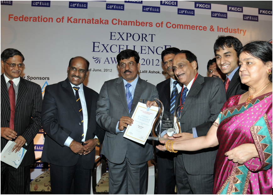2012 FKCCI Export Excellence Award