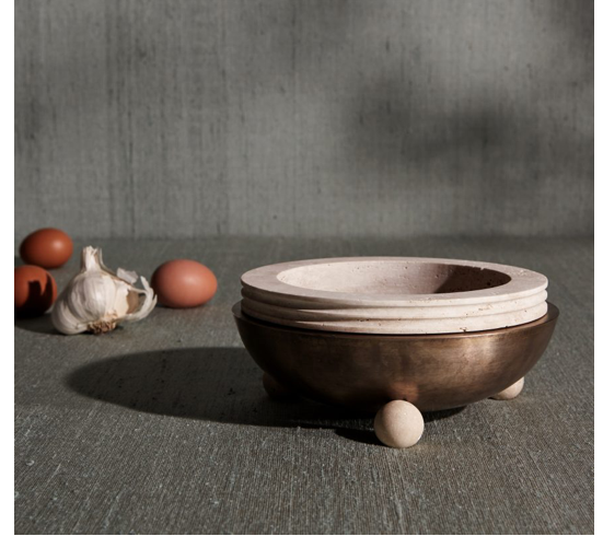 4. APPARATUS STUDIO SHIRAZ COLLECTION - Modern and classic at the same time. I love Apparatus Studio, period. This season, I'm especially loving this bowl from their newest Shiraz Collection. What better way to elevate your tablescape than with Apparatus.— Price upon request