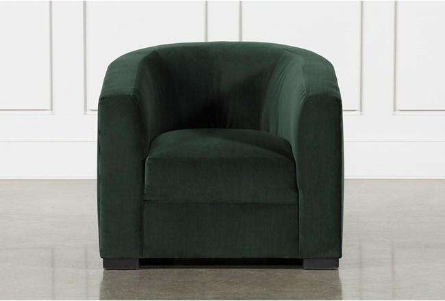 5. EMILE CHAIR FROM LIVING SPACES - Imagine curling up in this chair with a book and hot chocolate. It's the perfect gift for someone you know who just moved into a new home. The deep emerald velvet is perfect for the holiday season but works all year round and with all styles of decor.—$795