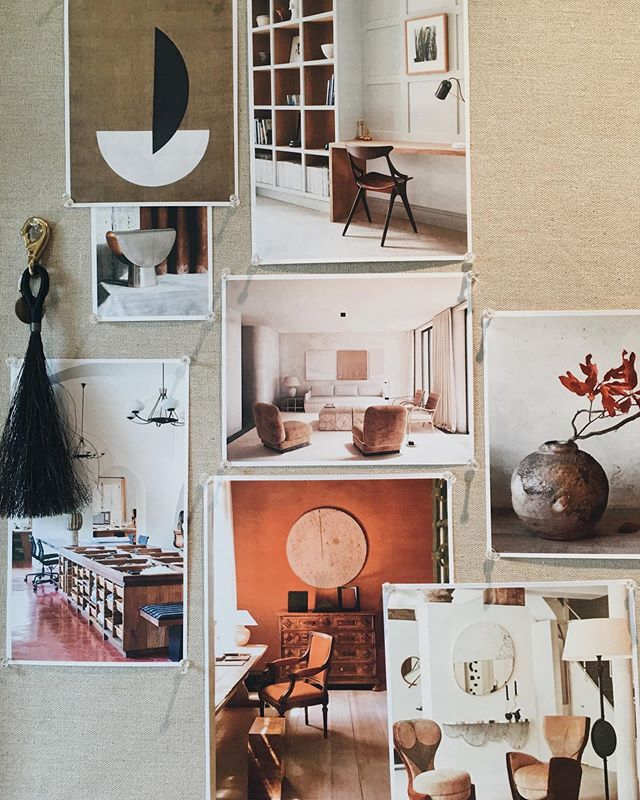 Post-holiday moodboard. #JBDworks