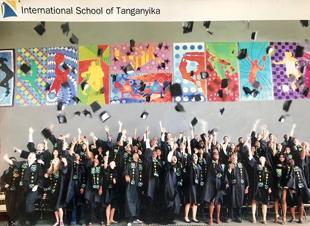 😍👩🏾🎓 class of 2011' find yourself (high school graduation - Tanzania)