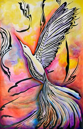 Hummingbird © Neko Meicholas