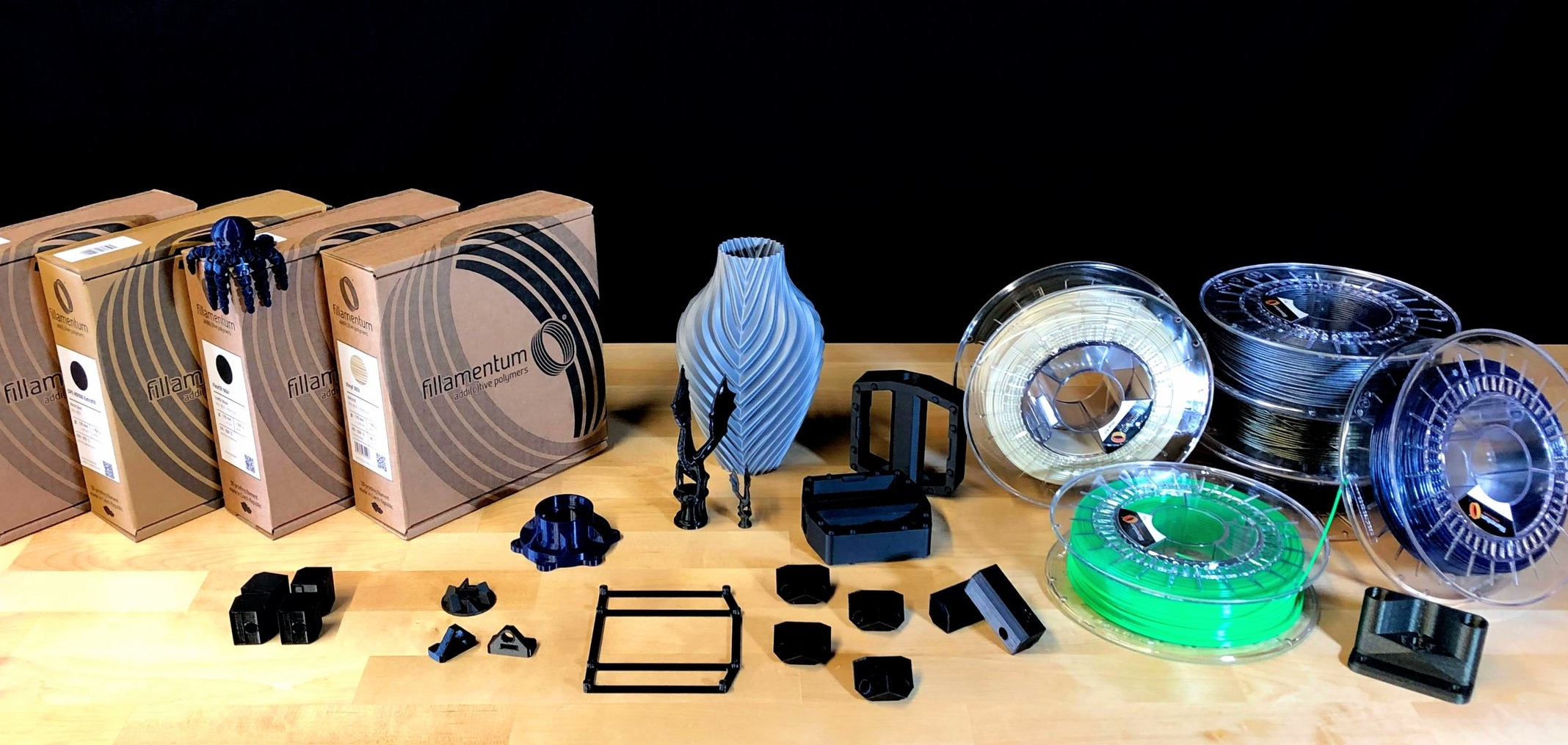 Materials by Fillamentum - Offering a wide range of high-quality 1.75mm 3D printing materials for every application