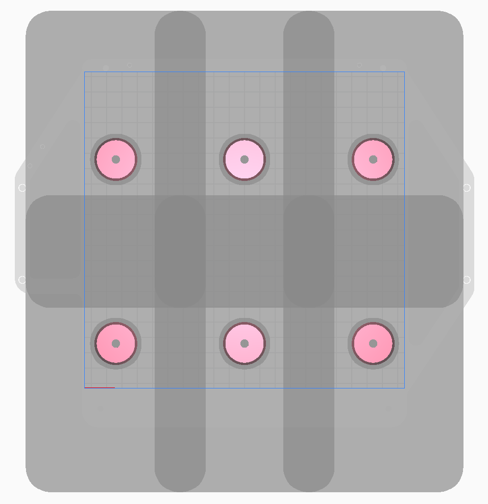 Parts arranged for successful sequential printing