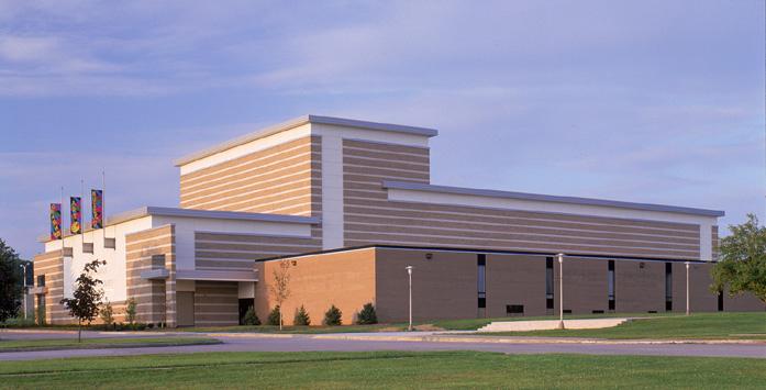 BOARDMAN HIGH SCHOOL - PERFORMING ARTS CENTER - BOARDMAN, OH