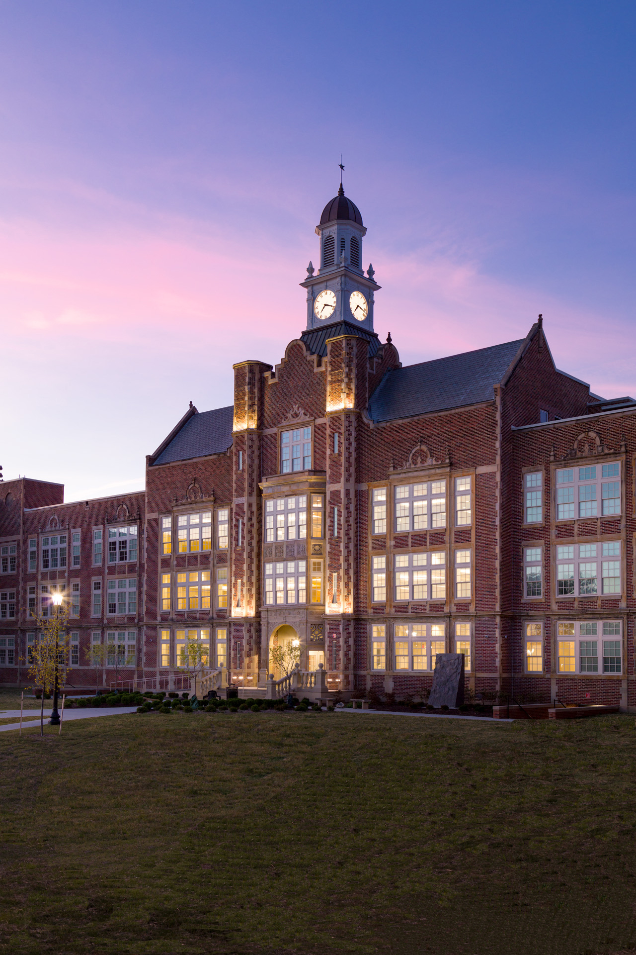 CLEVELAND HEIGHTS HIGH SCHOOL - CLEVELAND HEIGHTS, OH