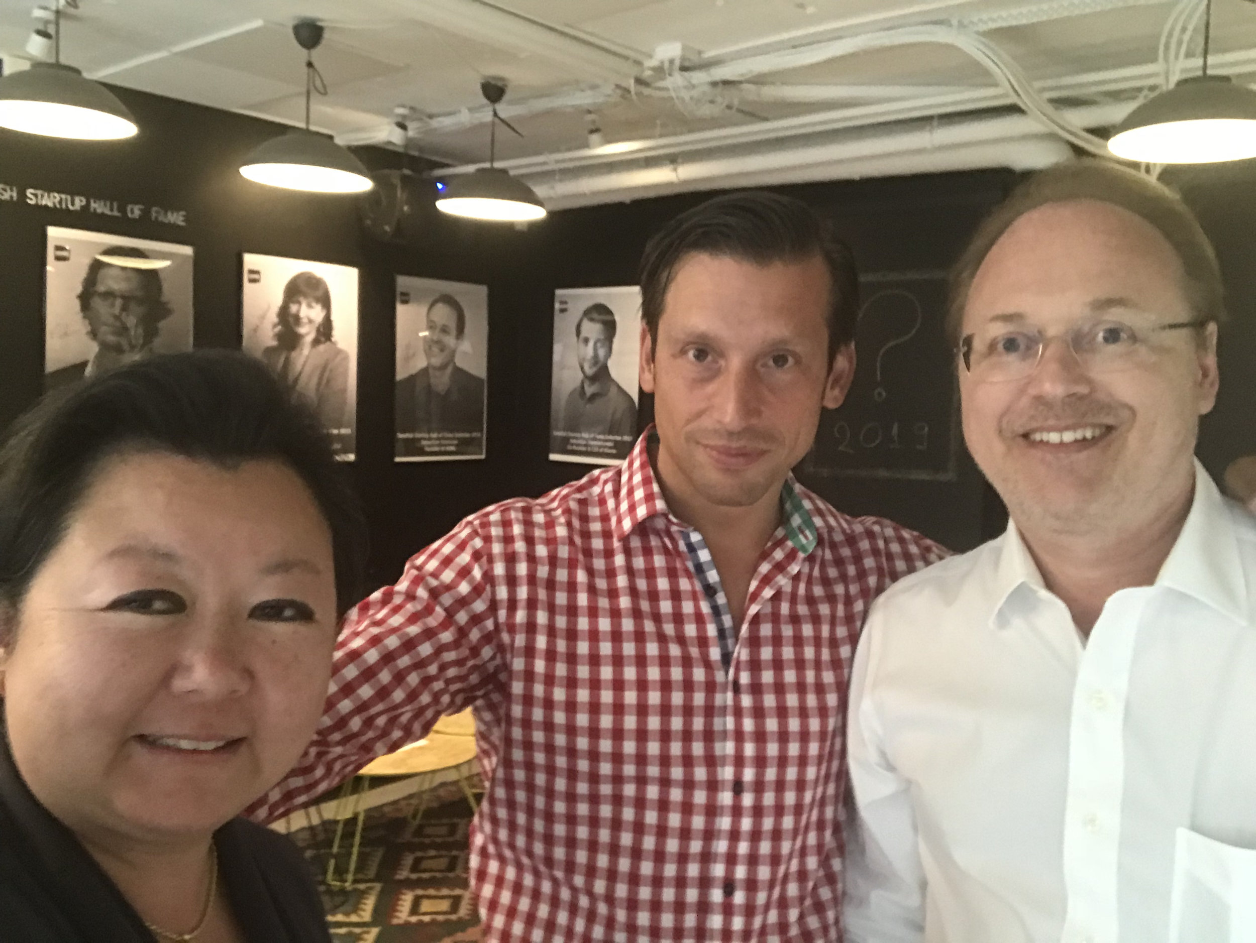 SUP46 CEO Daniel Sonesson with Nathalie and Christopher Mindus.jpg
