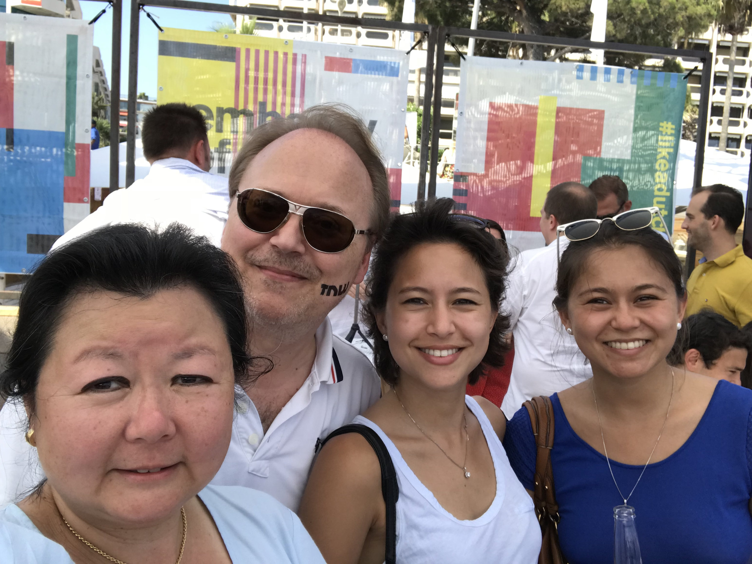 Mindus team (from left): Nathalie (CEO), Christopher (CTO), Caroline (PR) and Charlotte (Marketing)