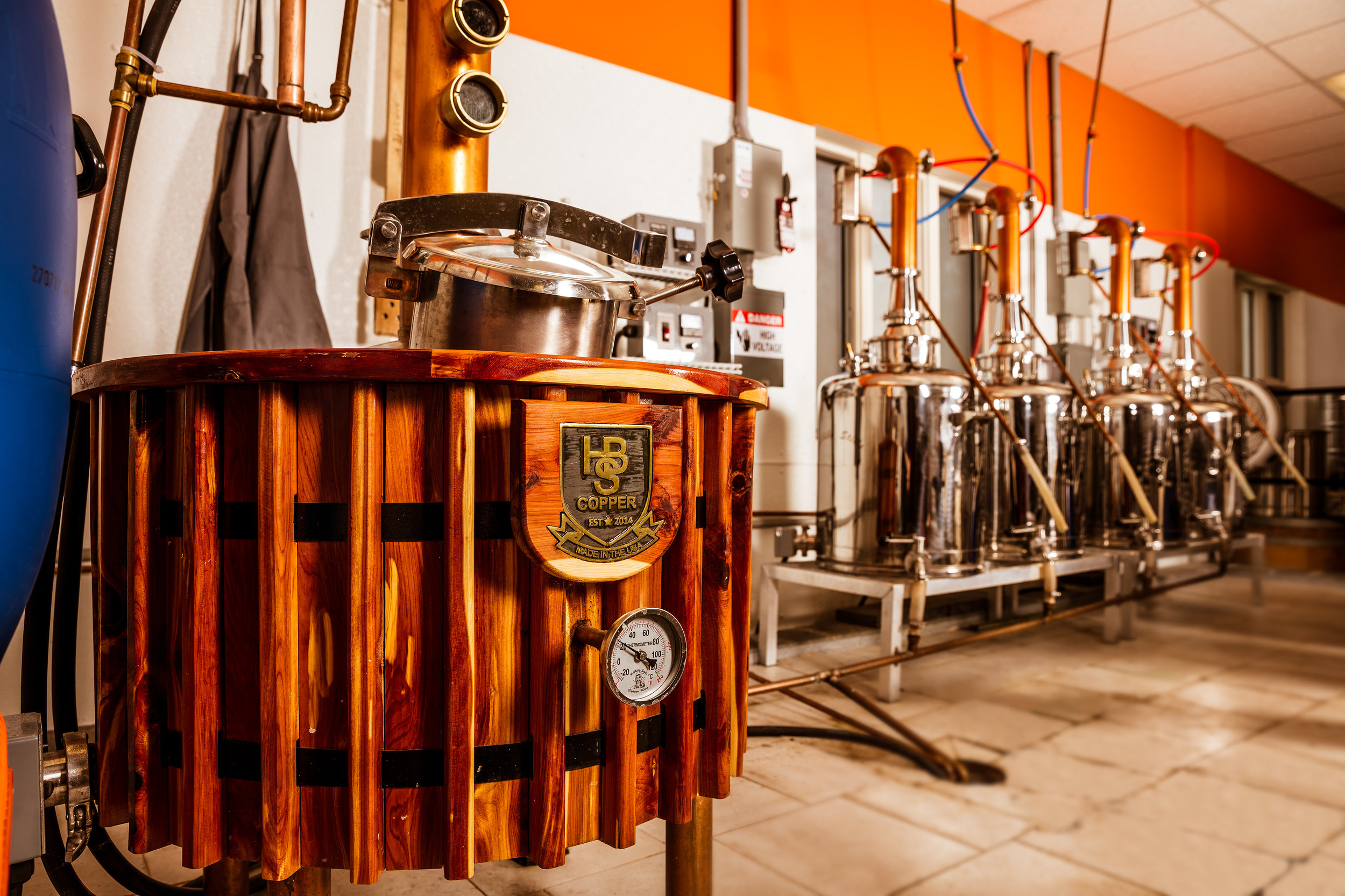 personal tour & Sample Tasting - Join our Master Distiller for an in-depth behind the scenes tour of our distillery production areas and barrel house, located in the picturesque town of Emmaus, PA.