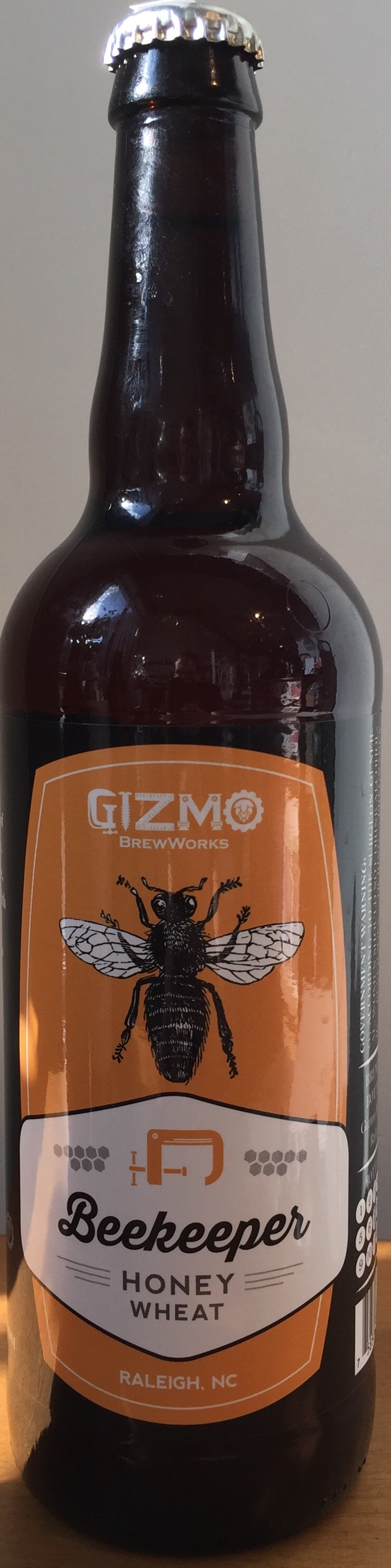 Gizmo Beekeeper Honey Wheat