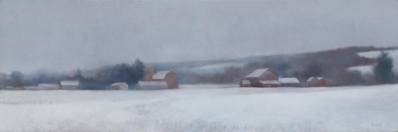 """""""Syracuse Farm in Winter"""""""