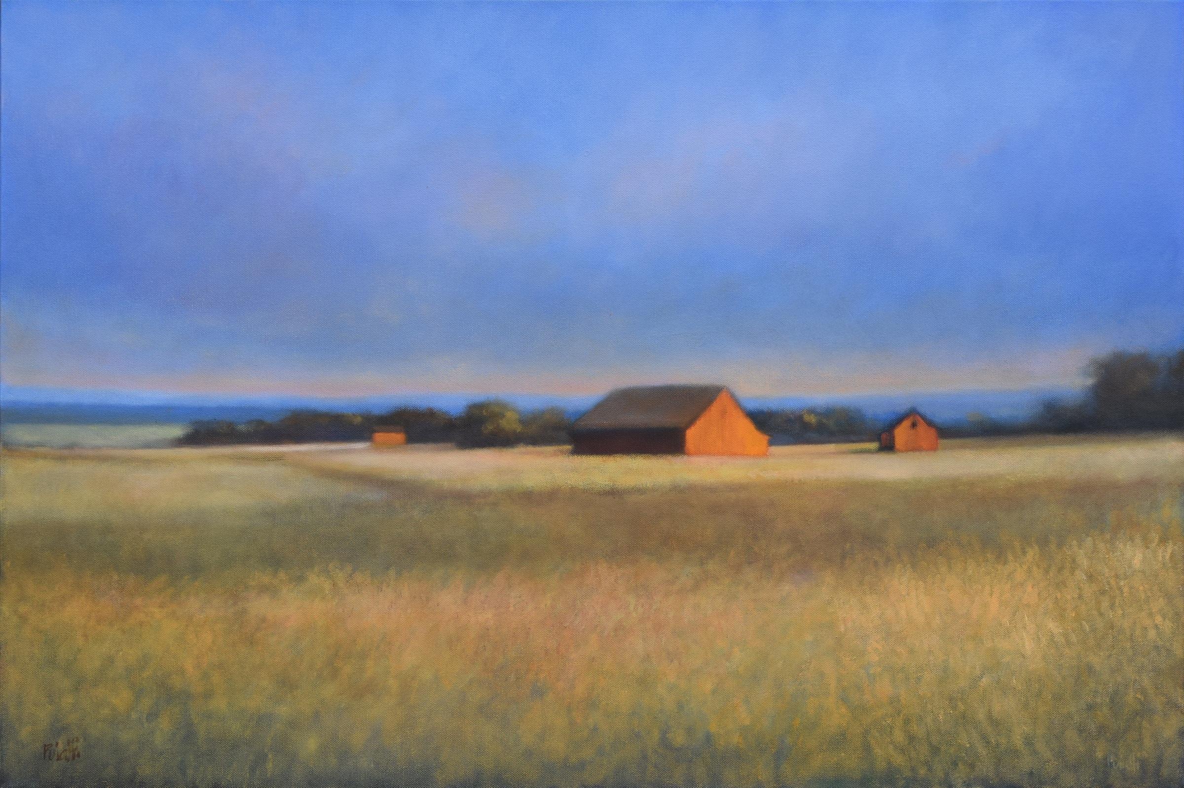 Four Barns Over Syracuse
