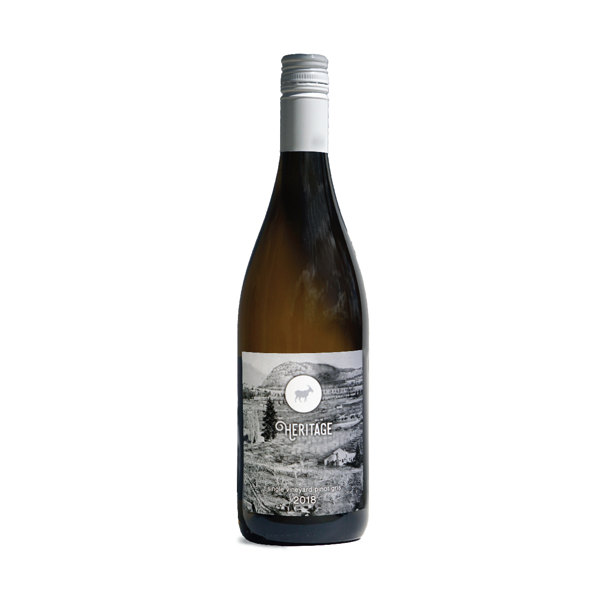 2018 Heritage Pinot Gris - $30.00The label of this heritage is an original photo of the property these grapes are grown on in the 1950s. The original white farm house still stands now on our vineyard property. This wine spaced with warm tree fruits in the nose and ripe round fruit on the pallet. A delicious blend of sweetness and acidity make this a wonderful wine for any occasion.