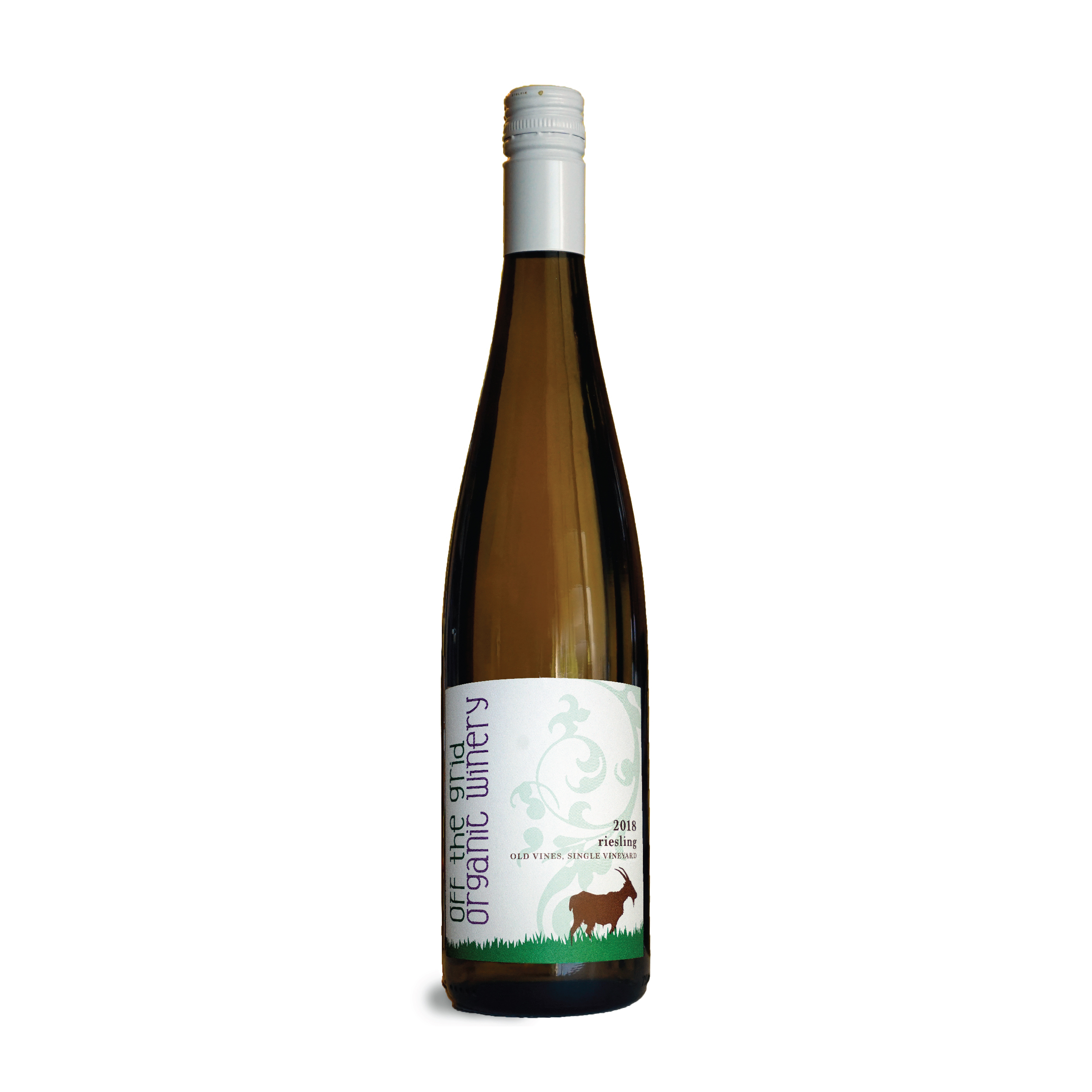 2018 Old Vines Riesling - $30.00This Riesling comes from our oldest and smallest plot of vineyard. This wine delivers bright notes of apple, lime, and apricot with a touch of slate. It's a high acidity makes it taste dry. Pair this wine with raw oysters, sharp cheese, or chicken satay.