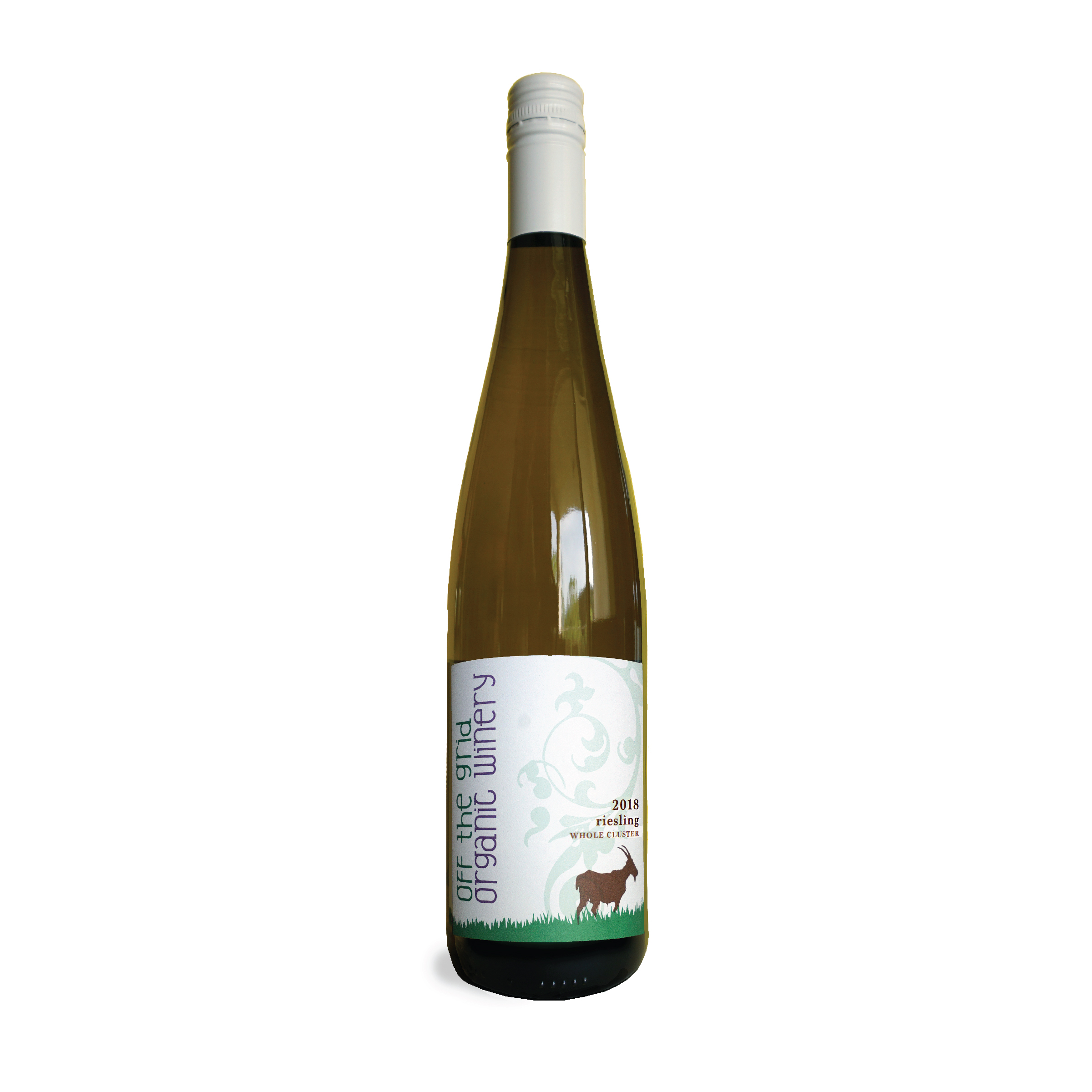 2018 Whole Cluster Riesling - $26.00This wine delivers full peaches, apricots, and honey on both the nose and the palate. It is incredibly juice and leaves you wanting more. Pair this wine with hot summer days, curried dishes, and BBQ'd peach salad.