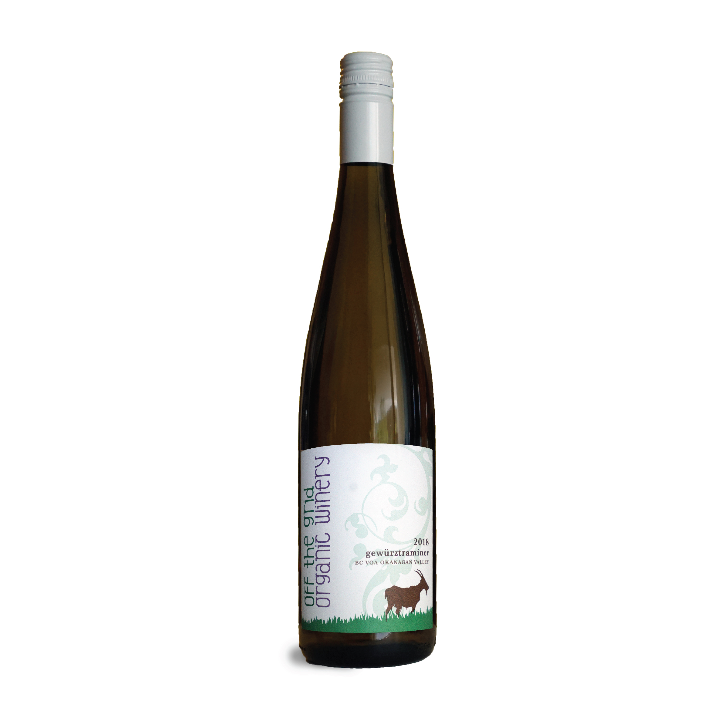 2018 Gewurztraminer - $24.00This Gewürztraminer showcases citrus notes on the nose of grapefruit and tangerine. On the palate it is well balanced with a light florality on the finish. Best paired with India and Thai food, or a fresh mango salad.