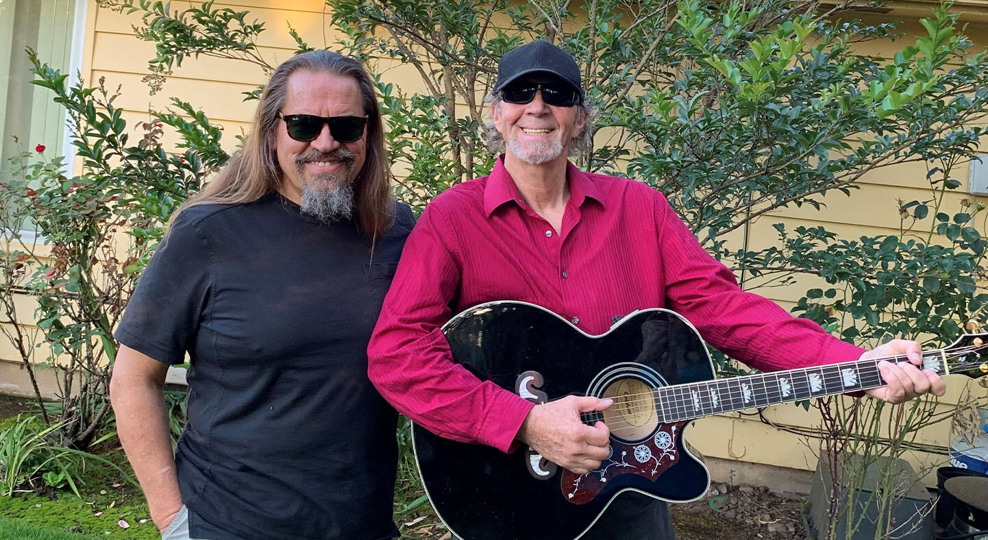 """Dusky Blues - Friday: 6-7pmSaturday: 6-7pmDusky Blues plays the blues with a true passion and gift for music. Natty """"O"""" is a well-known figure in the regional Blues scene as a musician. Additionally, he has been a DJ on KRVM's """"Breakfast with the Blues"""" for over 20 years. Blind Billy Blue has a background in classical, jazz, sacred music, and has more recently turned to blues to """"feed his soul."""" When he found the blues, he found his way home. When you hear Dusky Blues lay it down, so will you!Click here to listen to the Dusky Blues interview at KRVM"""