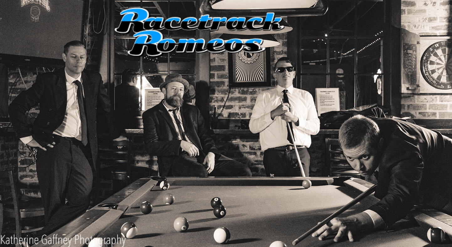 Racetrack Romeos - Saturday: 7-10pmEugene's Racetrack Romeos are a multifaceted entertainment experience performing some of the greatest music ever written. Their repertoire includes rock & dance hits spanning the 50's-80's, classic rock, Motown, outlaw, funk, and some folk.Visit Racetrack Romeos online at Facebook.com/racetrackromeos
