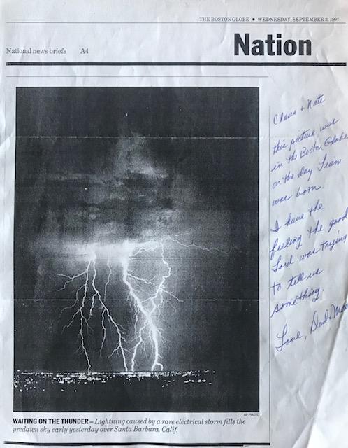 the boston globe, september 3rd, 1997.
