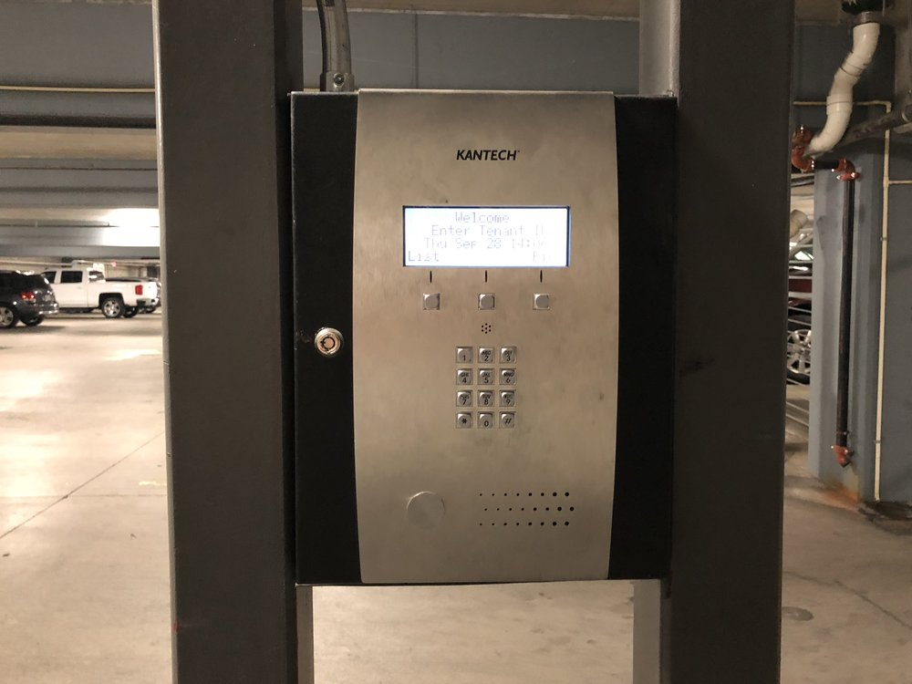 Enter your 4-digit Parking Access Code on this callbox