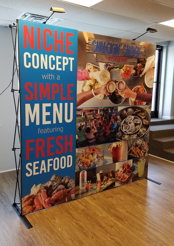 Come see the new Shuckin' Shack Restaurant Franchise Booth in Washington DC this weekend!
