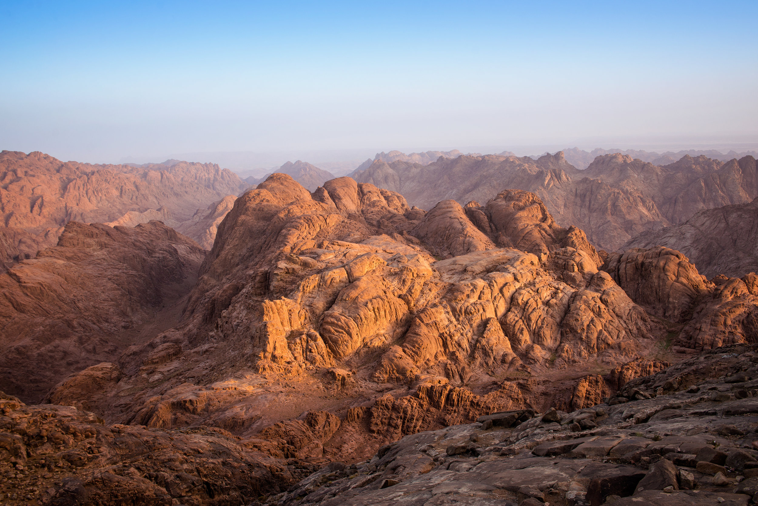 Figure 7 - Mount Sinai, Egypt