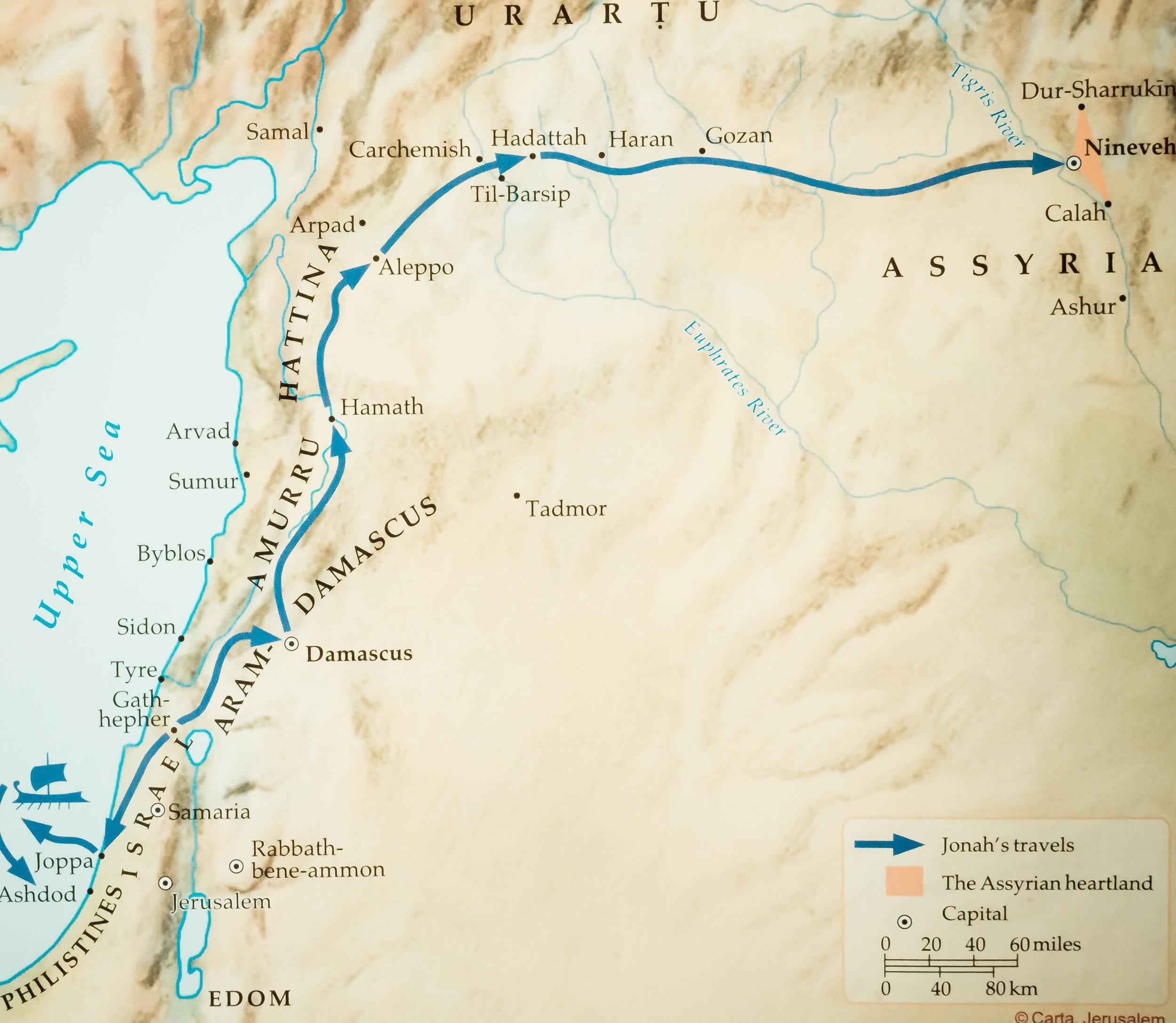 Figure 1 - Jonah's Journeys (Rose Publishing)