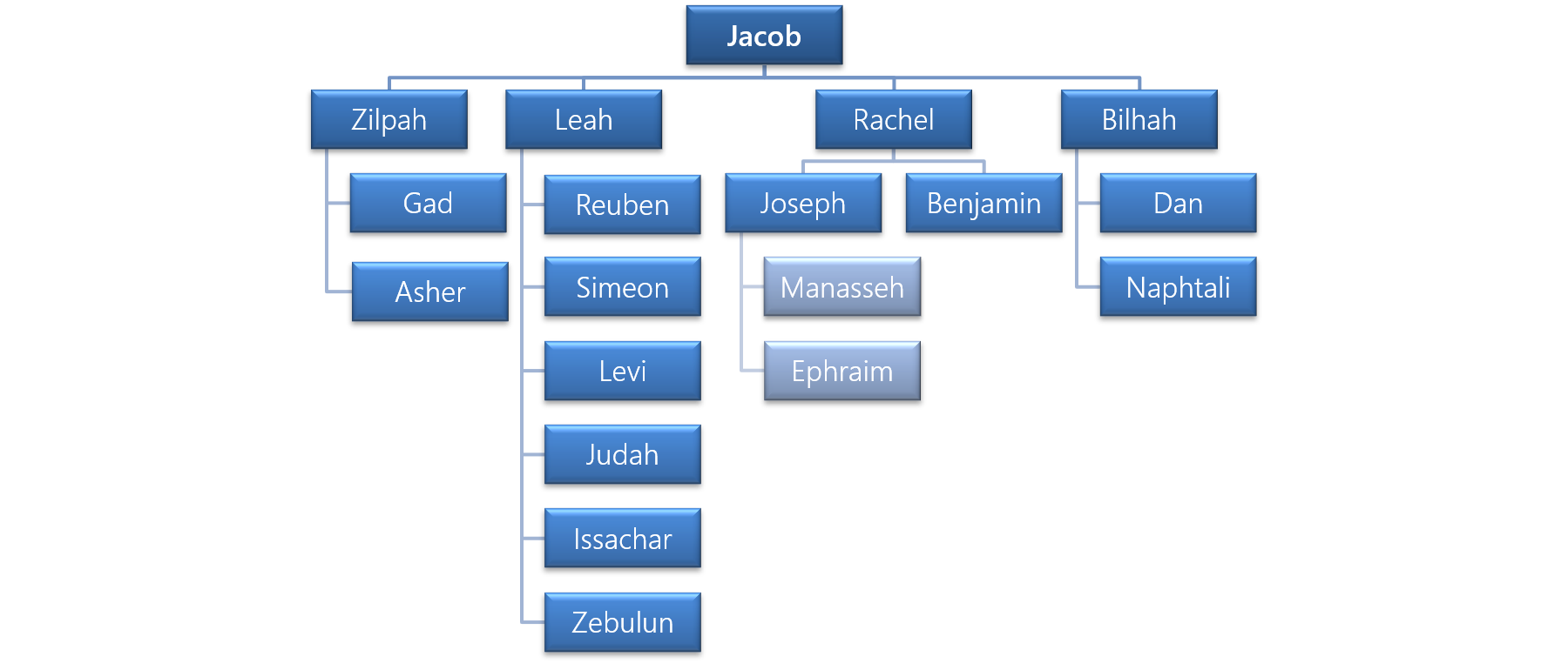 Figure 1 - The Family of Jacob