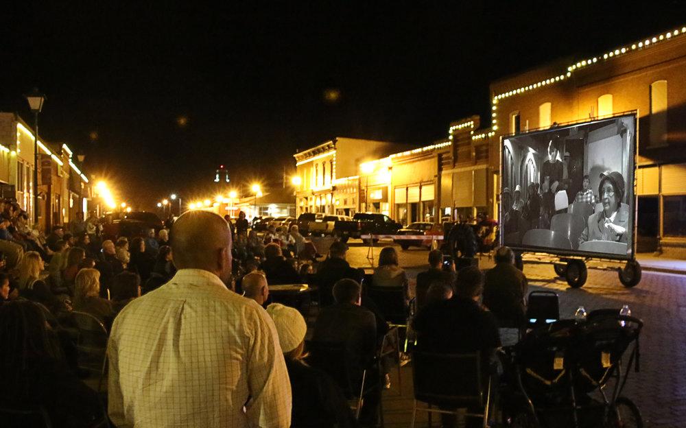 Public Art Projects Aim To Create Community On Main Street - Radio: Nebraska's PBS and NPR stations Nov 2015.